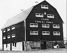 Original Cuddy Turkey Barn